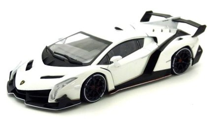 new kyosho 05571w 143rd scale lamborghini veneno in white with white stripe 7999 now available to order