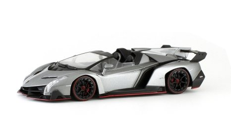 new kyosho 05572gr 143rd scale lamborghini veneno roadster in grey 7999 pre order now estimated release date is 2nd qtr 2015